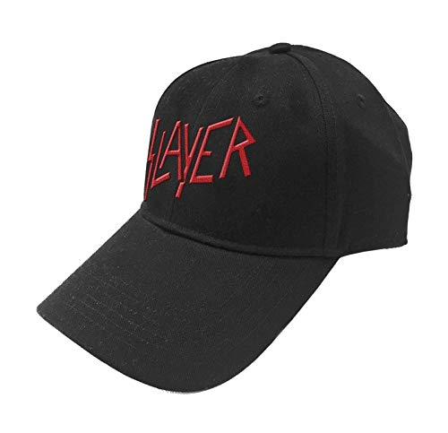 Preisvergleich Produktbild Slayer Baseball Cap Classic Band Logo Reign in Blood offiziell Schwarz Strapback