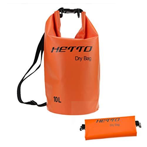RUNATURE Dry Bag, Borsa Impermeabile 10L 20L Sacca Stagna Sacchetto Impermeabili Sacchi Asciutti per Rafting Viaggio Kayak Campeggio Pesca Barca Canoa Snowboarding