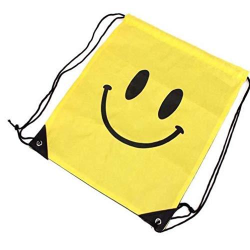Nuovo Sacchetto Multifunzionale di immagazzinaggio del Sacchetto della Tela di Canapa del Fascio Tasche Scarpe Spalla Borsa con Coulisse Zaino da Viaggio Messenger Bag Nuovi