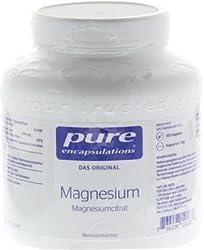 pure encapsulations Magnesium Magnesiumcitrat, 180 St. Kapseln
