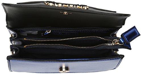 Mario Valentino - Wasabi, Borsa a tracolla Donna Blue (Blu/Multicolor)