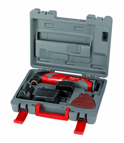 Einhell RT-MG 10.8 Li Cordless Multi-Function Tool with Carry Case and Blade Set – Multi-Colour