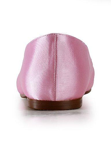 WSS 2016 Chaussures de mariage-Noir / Bleu / Jaune / Rose / Violet / Rouge / Blanc / Argent / Or / Beige / Amande-Mariage / Habillé / Soirée & under 1in-silver