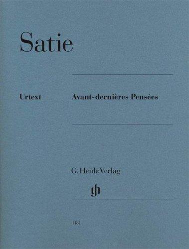 Avant-dernières Pensées für Klavier