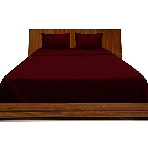 400-tc-georgeous-4-bettlaken-set-streifen-pocket-grosse-584-cm-baumwolle-burgundy-stripe-eu-super-ki