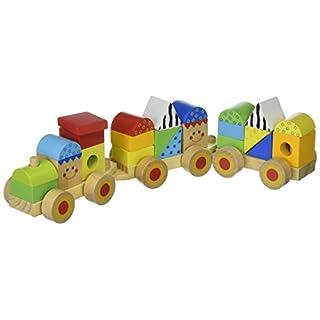 Andreu Toys Stapelbare Holzeisenbahn, 38 cm x 7,5 cm x 9,5 cm, TK15108