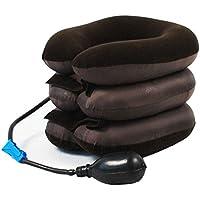 Tracción inflable del cuello de la vértebra cervical para el dolor de cabeza del hombro de la parte posterior de la cabeza