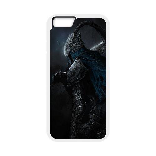Dark Souls coque iPhone 6 Plus 5.5 Inch Housse Blanc téléphone portable couverture de cas coque EBDXJKNBO15149
