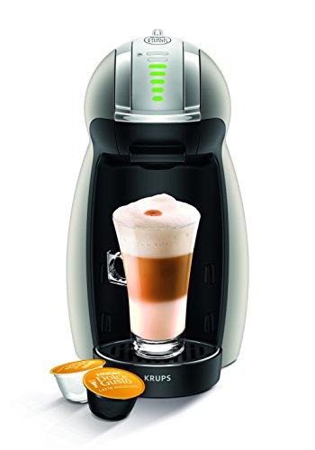 NESCAFÉ DOLCE GUSTO Genio 2 KP160TK Macchina per Caffè Espresso e altre bevande Automatica Titanium di Krups