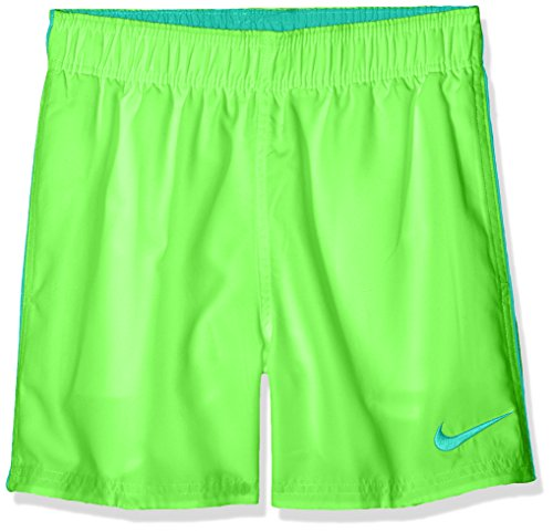 Nike ness8675Badehose, Jungen XL grün (green strik)