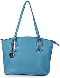 Butterflies Women Handbag (Sky Blue) (BNS 0657SBL)