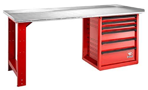 Facom 2000.roll6m3g banco trabajo maintenance 6cajones