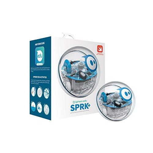 Sphero K001ROW SPRK+ STEAM Programmierbarer Roboter für Handy, Transparent