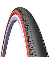 Rubena Syrinx V80neumático de bicicleta (negro/rojo, 700x 23(23–622)