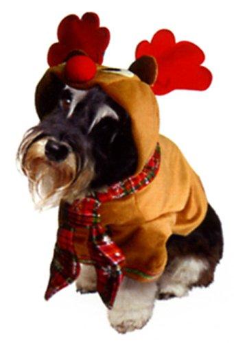 Weihnachtskostüme für Hunde von Dogs & Co, Rentier-Kostüm, -