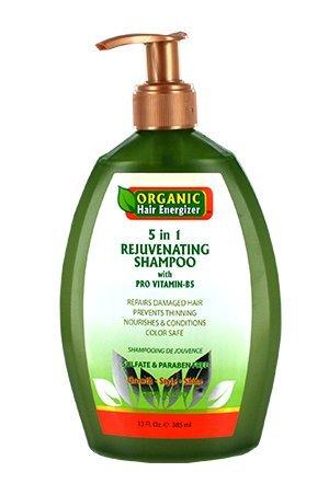 Organic Hair Energizer 5 in 1 Rejuvenating Shampoo by Organic Hair Energizer -