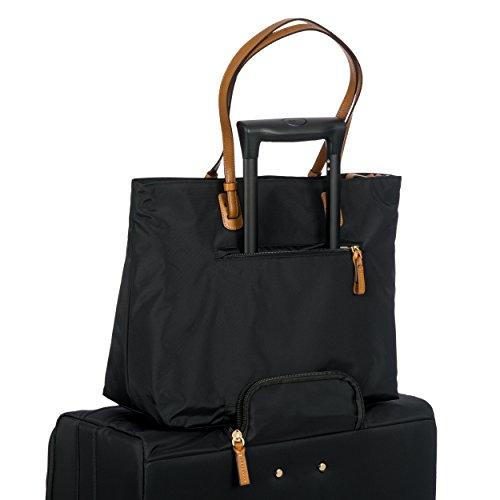 Brics X-Travel Shopper Borsa tote 39 cm scomparto Laptop Nero