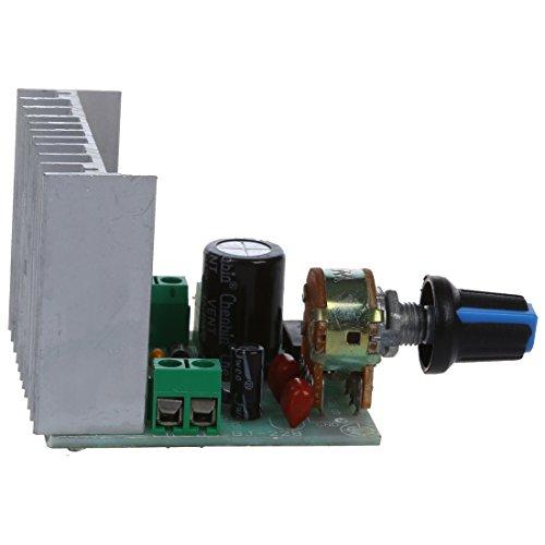 SODIAL(R) AC / DC 9V-15V / 12V 15W + 15W TDA7297 Version B Dual Channel Module tablero del amplificador