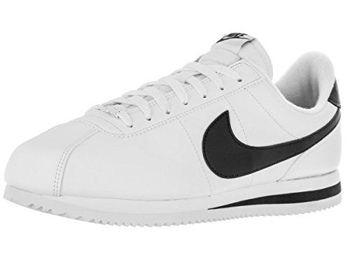 Nike Mens Cortez Basic Leather Trainers White/Obsidian