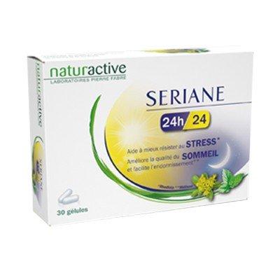 Naturactive-Sériane 24h/24 Naturactive Stress et Sommeil 30 gélules