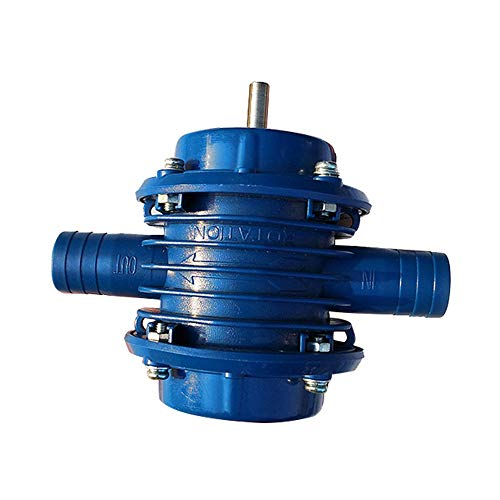 Hpybest Elektrische Handbohrmaschinen-Wasserpumpe mit Mikro-Tauchmotor, sehr robust, selbstsaugend, für Zuhause, Garten, Kreiselpumpe