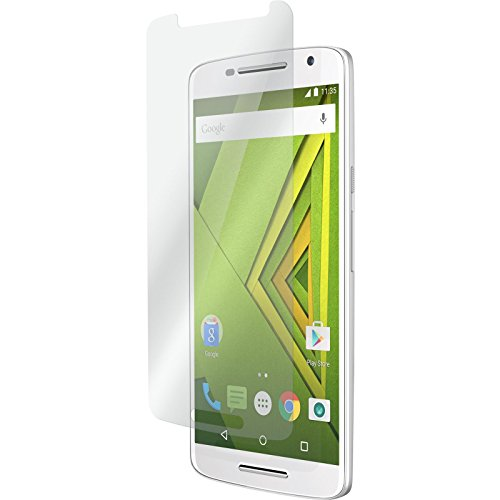 PhoneNatic 2 x Glas-Folie klar kompatibel mit Motorola Moto X Play - Panzerglas für Moto X Play