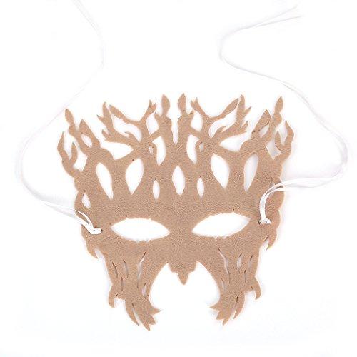 Große Baumformmaske für Maskeradepartys, Kostümpartys, Karneval, Weihnachten, Ostern, Halloween,Flesh (Große Menge Baby-halloween-kostüme)