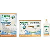U Green Clean Bulaşık Mak.Tablet parlatıcı tuz seti