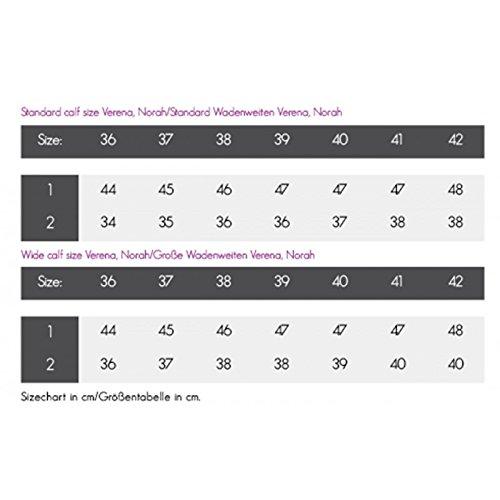 QHP Leder-Reitstiefel Adult Norah weite Wadenweite Braun