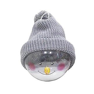 Gespout-1-Stck-Weihnachten-Ornamente-Hut-Smiley-Gesicht-Schneemann-Schneeflocke-Weihnacht-Kugeln-Anhnger-Christmas-Decoration-Balls-fr-Weihnachtsbaum-Dekoration-Party