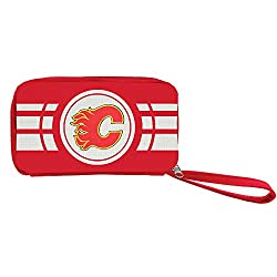 NHL Calgary Flames Ripple Zip Wallet
