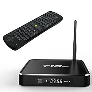Wangang T10 Plus Android 4,1 TV Box KODI 16,0 2 G/8 G Amlogic S812 Set Top Box With Dual-channel 5,0GHz 2,4 GHz/Wireless Bluetooth 4.0 Smart TV Receiver H.264 4k2k Media Player