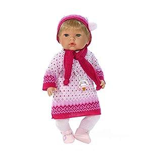 Muñeca Tita Tricot (R/1010), muñeca muy completa para que los niños aprendan a poner y quitarle la ropa, muy blandita y con un suave perfume a vainilla.