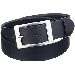 MGM - Cinturón para mujer, talla 110 cm, color Negro