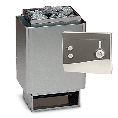 Saunaset EOS 34A Sauna Ofen 7,5 kW + Steuerung K1 + Saunasteine