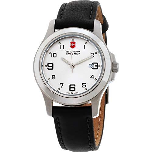 Victorinox Reloj de Mujer Cuarzo Suizo 32mm Correa de Cuero Genuino 241388.CB