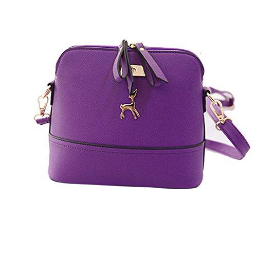 Moonuy_bag, Borsa a tracolla donna Purple