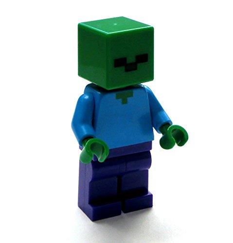 LEGO Minecraft Minifigur Minifigure Zombie