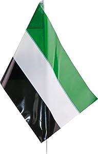 Verbetena - Bandera palo extremadura, 20x30 cm, pack 25 unidades (011200015)