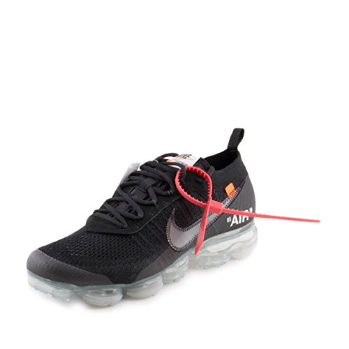 timeless design f2bc3 302ab Nike Air Vapormax x Off White Black 2.0 - Black Clear-Total Orange Trainer