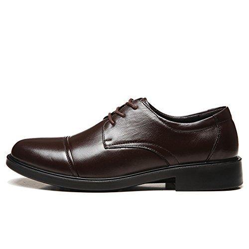 Chaussures en cuir pour hommes/ chaussures de cuir hommes affaires/Porter des chaussures B