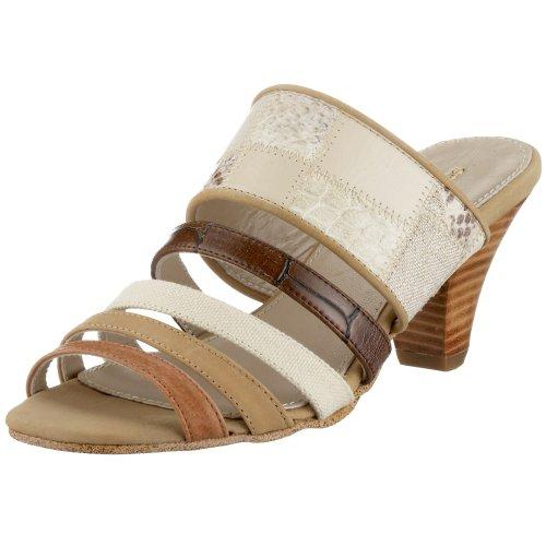Gerry Weber L. A. FL00624, Damen Sandalen/Fashion-Sandalen, beige, (beige-combi 1116) Beige