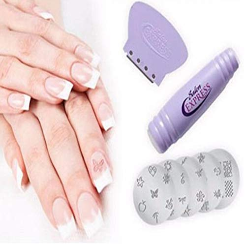Nail Art che timbra il corredo Donne Nail Printer Manicure Tools Printing Machine Suit