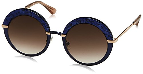 Jimmy Choo Damen GOTHA/S JS 3UE 50 Sonnenbrille, Blau (Bluette Gold/Brown Sf),