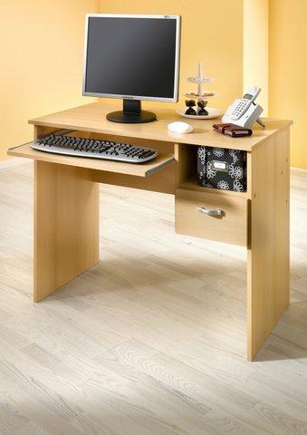 8049-1 - Schülerschreibtisch / Computertisch / PC-Tisch / mehrere Farben (buche)