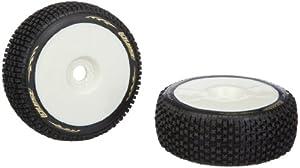 Jamara 54801 - Neumáticos + llantas (escala 01:08, B-Pirate, blandos) importado de Alemania