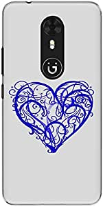 The Racoon Lean printed designer hard back mobile phone case cover for Gionee A1. (thorny hea)