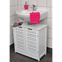 Muebles de bano bajo lavabo hogar y cocina - Amazon estanterias bano ...