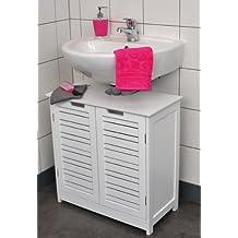 Estanteria bajo lavabo - Amazon estanterias bano ...