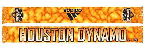 adidas Houston Dynamo MLS Sublimated Polyester Team Scarf